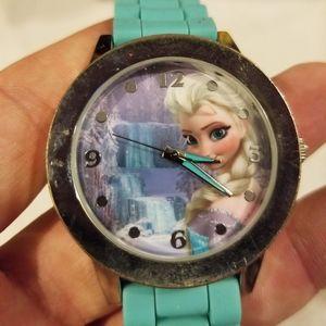 Disney frozen elsa Wristwatch watch japan steel